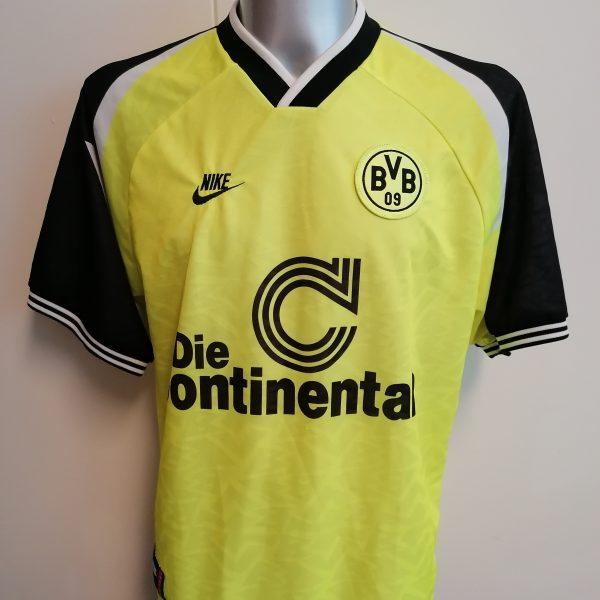 Vintage Borussia Dortmund 1995 1996 home shirt Nike trikot size XL (4)