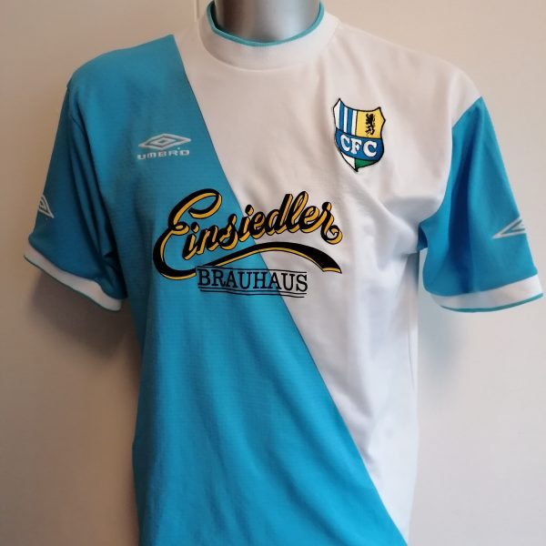 Vintage Chelmnitzer FC 2004 2005 home shirt Umbro trikot size L (1)