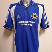 Vintage Dinamo Kiev 2001 2002 away shirt adidas jersey size XL (1)