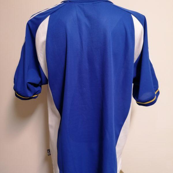 Vintage Dinamo Kiev 2001 2002 away shirt adidas jersey size XL (4)