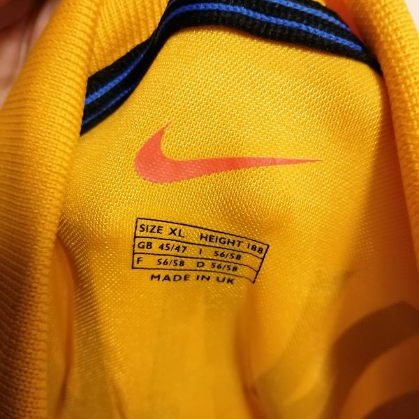 Vintage Inter Milan 1999 2000 third shirt Nike Internazionale Ronaldo 9 XL (2)