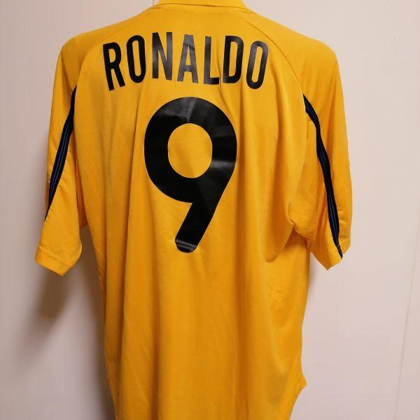 Vintage Inter Milan 1999 2000 third shirt Nike Internazionale Ronaldo 9 XL (3)