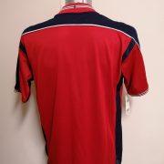 Vintage Norway 2003 2004 2005 reversible home away shirt Umbro L BNWT (5)