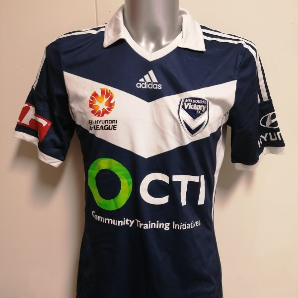 Melbourne Victory 2014 2015 home shirt adidas football jersey size M (4)