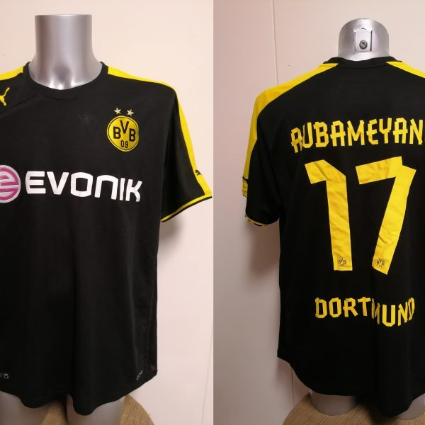 Borussia Dortmund 2013-14 away shirt Puma trikot Aubameyang 17 size XXL