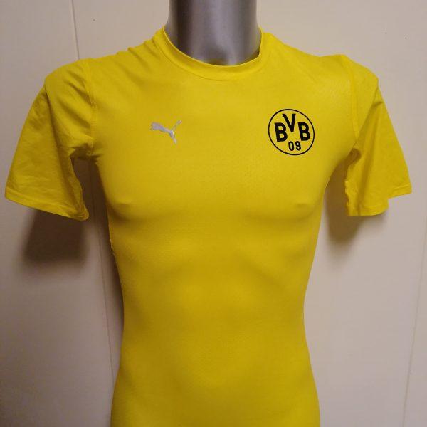 Borussia Dortmund 2013 2014 training shirt Puma trikot size M bodycon (1)