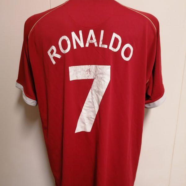 Manchester United 2006 2007 home shirt Nike Ronaldo 7 jersey size XXL (1)