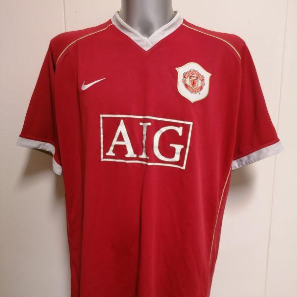 Manchester United 2006 2007 home shirt Nike Ronaldo 7 jersey size XXL (4)