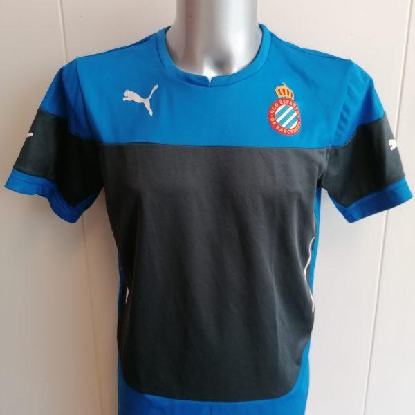 RCD Espanyol 2014 2015 training shirt football Puma size M (1)