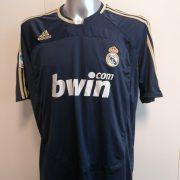 Real Madrid 2007 2008 LFP away football shirt adidas size XL (1)