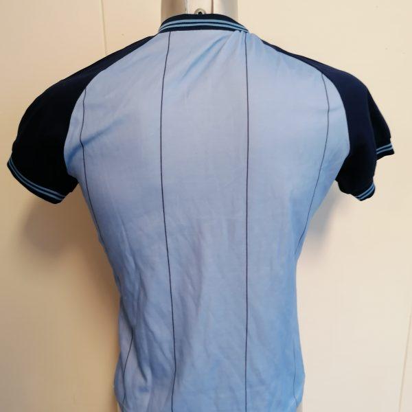 Vintage Le Coq Sportif 1980ies blue football shirt size Sv2 (3)