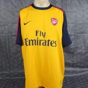 Arsenal-2008-09-away-shirt-Nike-soccer-jersey-Nasri-8-size-XL-202083901010-2