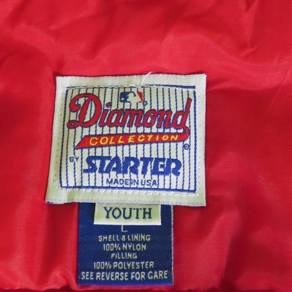 MAJESTIC-Red-Blue-Indians-MLB-Bomber-Jacket-sz-Youth-heavy-quality-piece-of-kit-192358352180-4