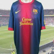 Barcelona-2012-13-home-shirt-soccer-jersey-camiseta-maglia-maillot-Nike-size-XL-202089492662