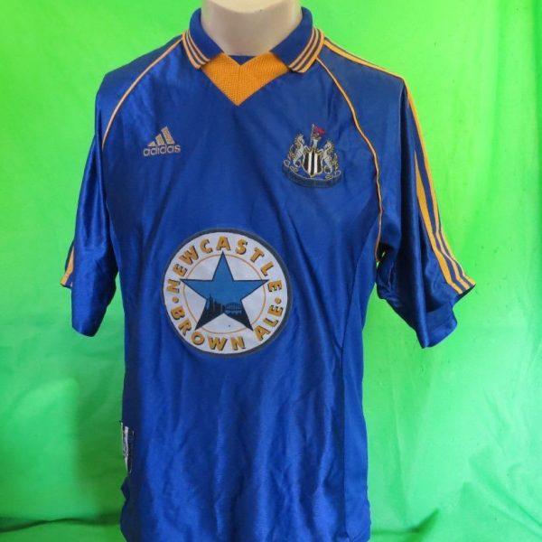ultra-rare-Newcastle-United-1998-99-SAMPLE-away-shirt-maillot-camiseta-size-M-202082888552-4
