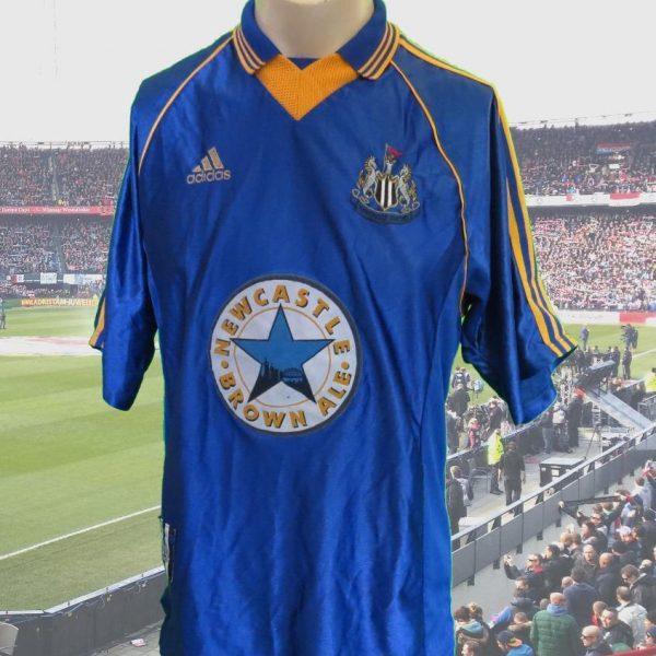 ultra-rare-Newcastle-United-1998-99-SAMPLE-away-shirt-maillot-camiseta-size-M-202082888552