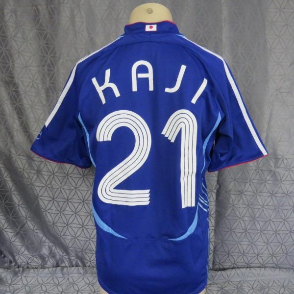 Japan-2006-08-womens-home-shirt-size-S-Kaji-21-as-worn-at-World-Cup-2006-192335665504-5