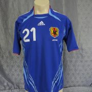Japan-2006-08-womens-home-shirt-size-S-Kaji-21-as-worn-at-World-Cup-2006-192335665504-6
