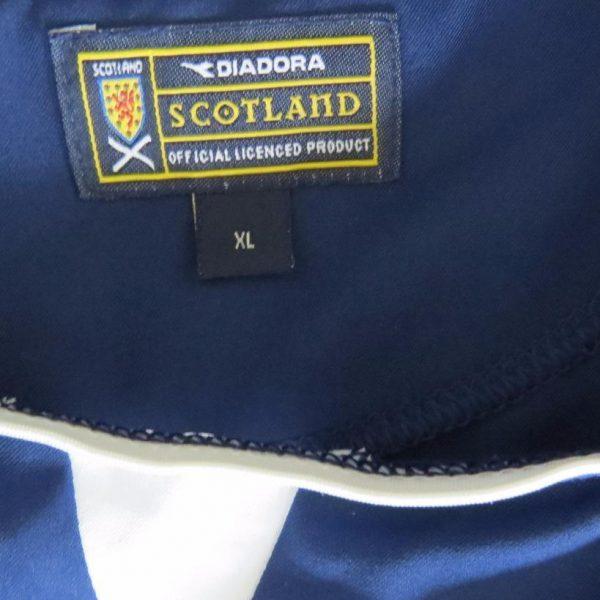 Scotland-2003-05-home-football-shirt-soccer-jersey-maillot-camiseta-size-XL-202098355455-4