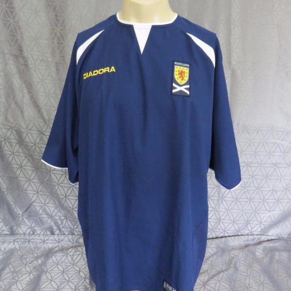 Scotland-2003-05-home-football-shirt-soccer-jersey-maillot-camiseta-size-XL-202098355455