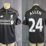 Match-worn-Liverpool-2015-16-EPL-New-Balance-away-shirt-jersey-Allen-24-192353267766