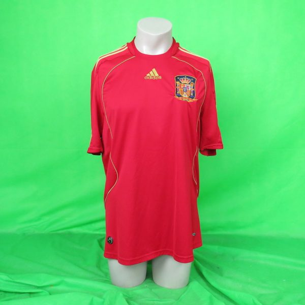 Spain-2008-09-home-shirt-adidas-camiseta-size-L-as-worn-at-Euro-2008-Spain-Wi-192350973996-3