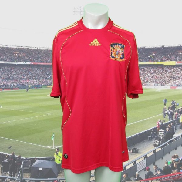 Spain-2008-09-home-shirt-adidas-camiseta-size-L-as-worn-at-Euro-2008-Spain-Wi-192350973996