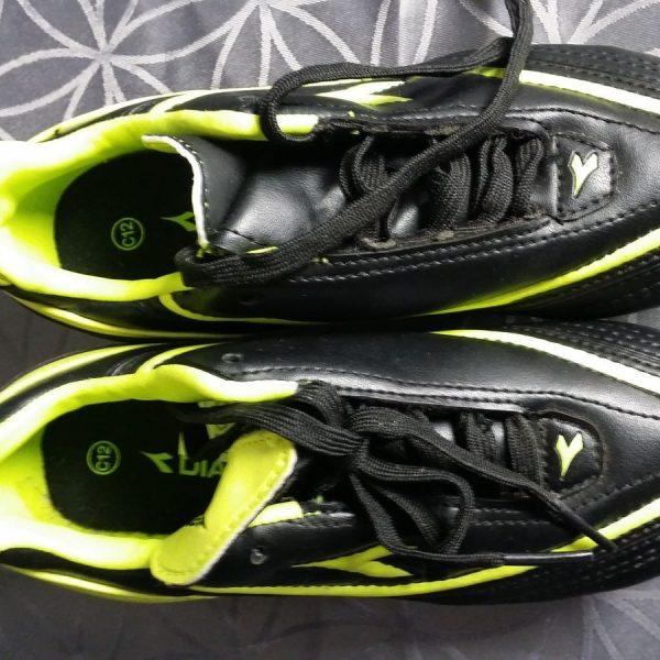 Diadora-SG-73-Black-Yellow-Soccer-Cleats-Football-Boots-size-UK-C12-EU31-US1-202100758758-2