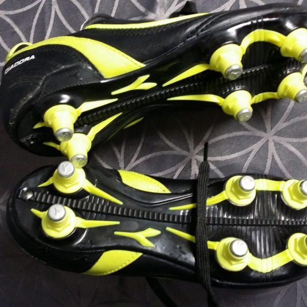 Diadora-SG-73-Black-Yellow-Soccer-Cleats-Football-Boots-size-UK-C12-EU31-US1-202100758758-3